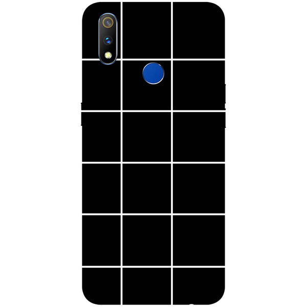 Checks RealMe 3 Pro Back Cover-Hamee India
