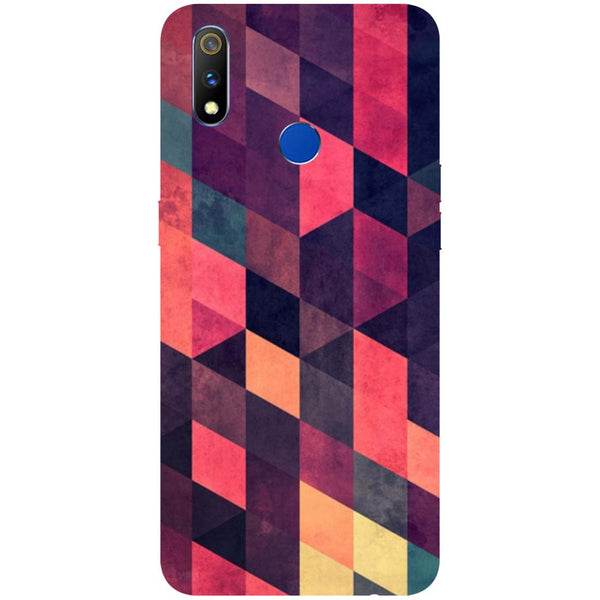 Pink Shades RealMe 3 Pro Back Cover-Hamee India