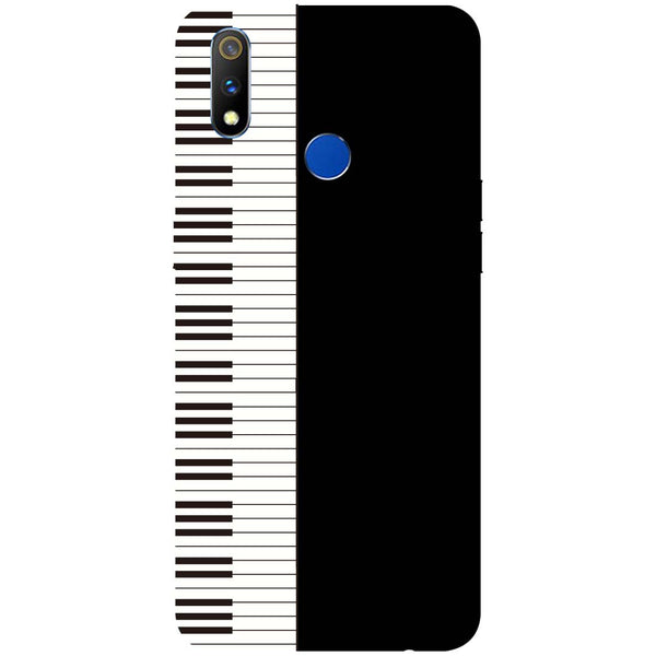 Piano RealMe 3 Pro Back Cover-Hamee India