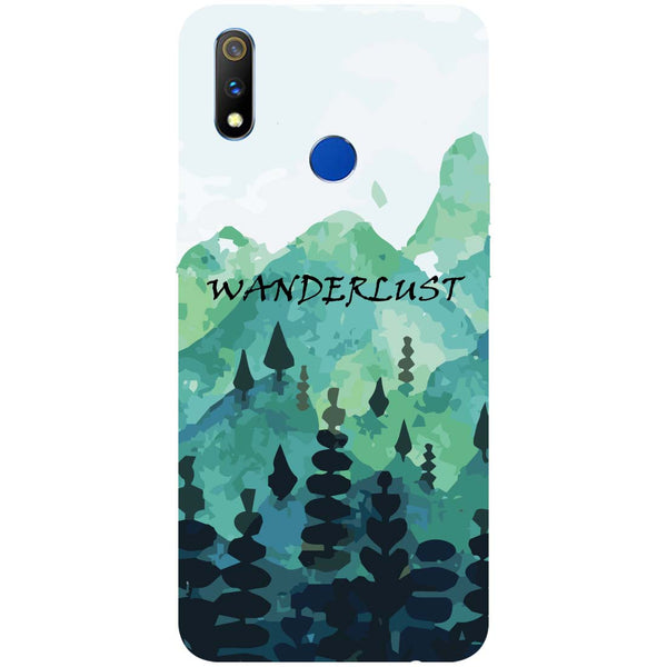 Wanderlust RealMe 3 Pro Back Cover-Hamee India