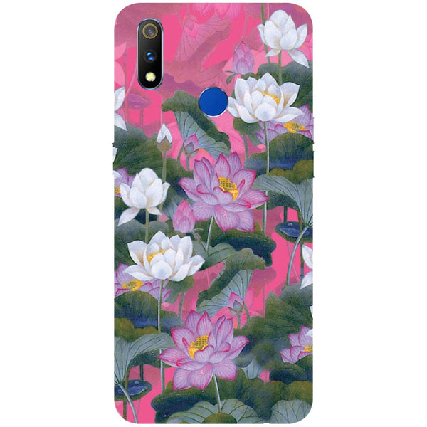 Lotus Valley RealMe 3 Pro Back Cover-Hamee India