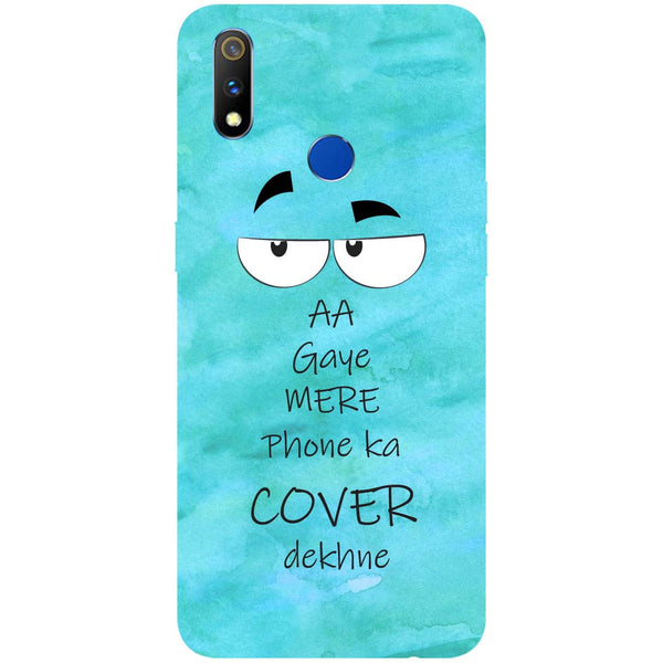 Aa Gaye RealMe 3 Pro Back Cover-Hamee India