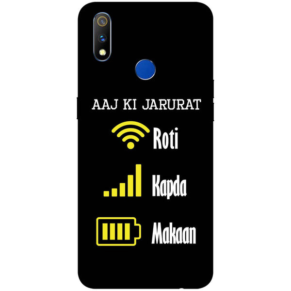 Zarurat RealMe 3 Pro Back Cover-Hamee India