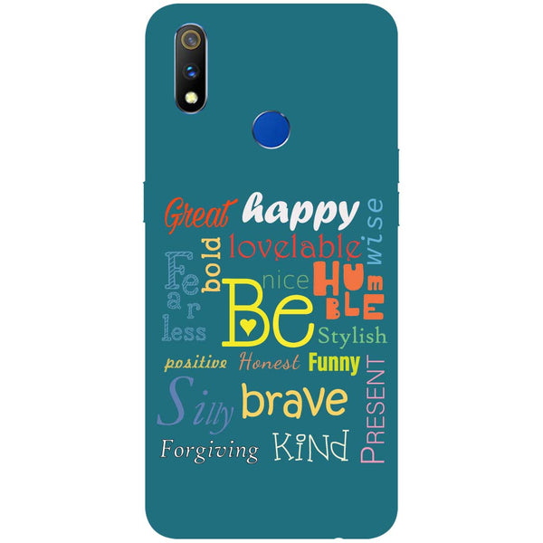 Be RealMe 3 Pro Back Cover-Hamee India