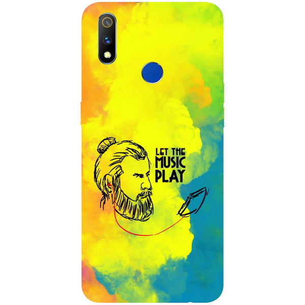 Beard Music RealMe 3 Pro Back Cover-Hamee India