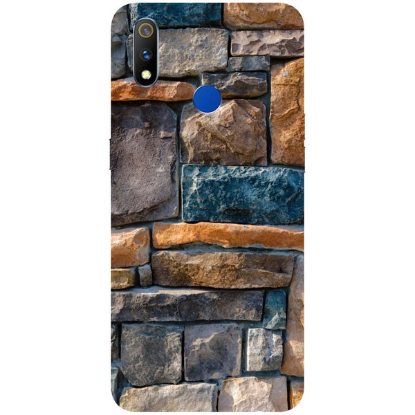 Bricks RealMe 3 Pro Back Cover-Hamee India