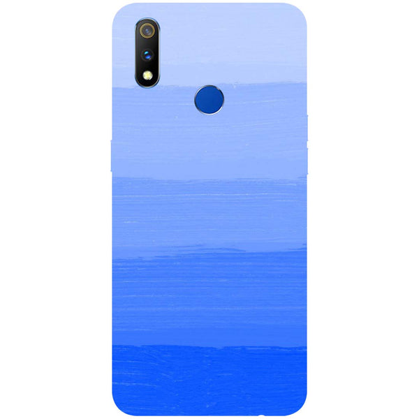 Blue RealMe 3 Pro Back Cover-Hamee India