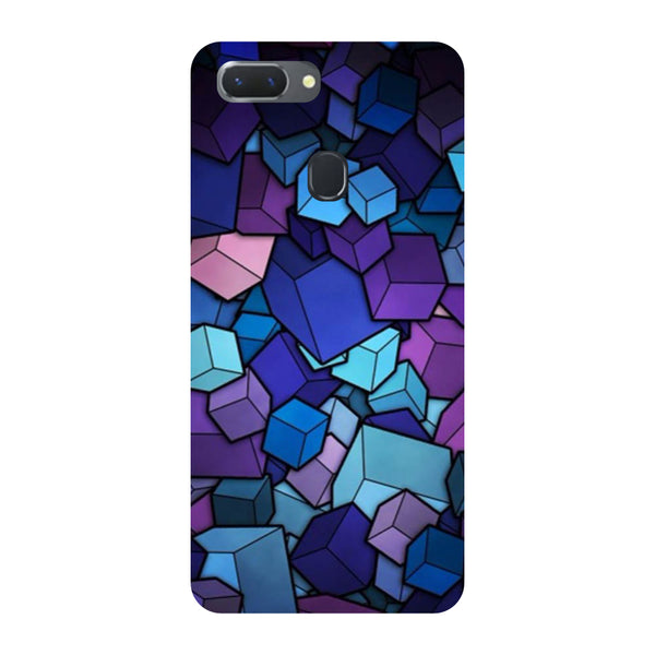 Cubes Oppo RealMe 2 Pro Back Cover-Hamee India