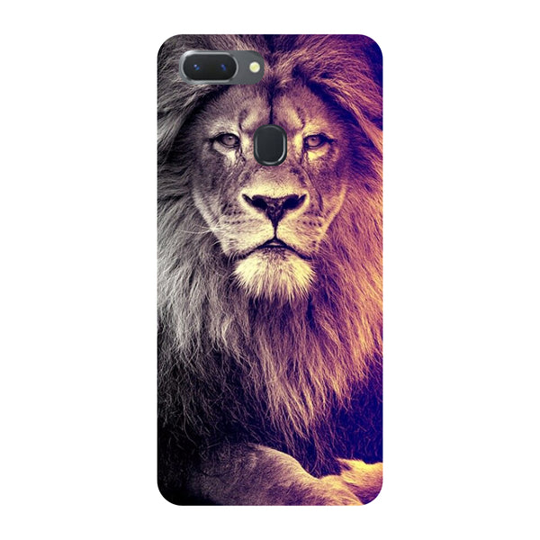 Lion Oppo RealMe 2 Pro Back Cover-Hamee India