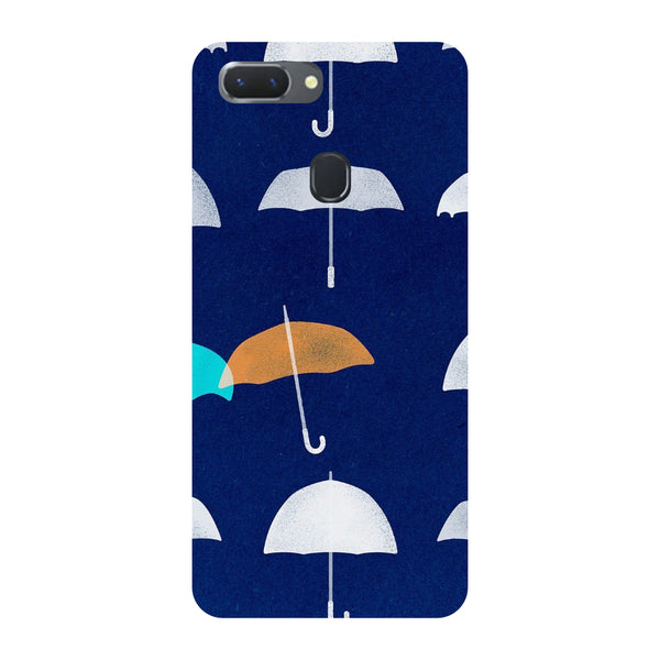 Umbrellas Oppo RealMe 2 Pro Back Cover-Hamee India