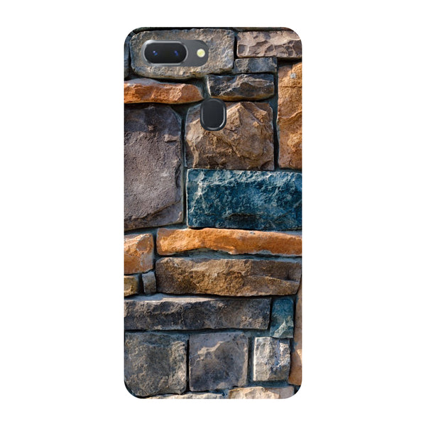 Bricks Oppo RealMe 2 Pro Back Cover-Hamee India