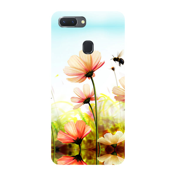 Flowers Field Oppo RealMe 2 Pro Back Cover-Hamee India