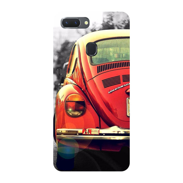 Vintage Car Oppo RealMe 2 Pro Back Cover-Hamee India
