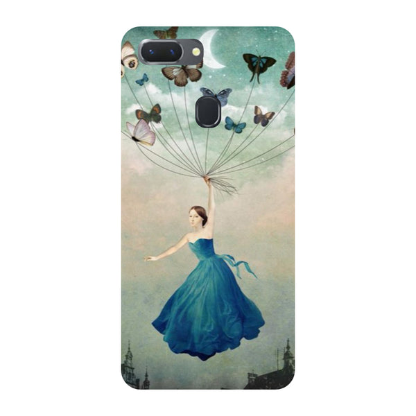 Flying Girl Oppo RealMe 2 Back Cover-Hamee India