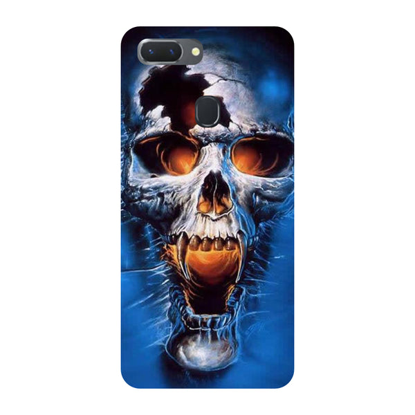 Scary Skull Oppo RealMe 2 Pro Back Cover-Hamee India