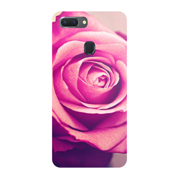 Pink Rose Oppo RealMe 2 Pro Back Cover-Hamee India