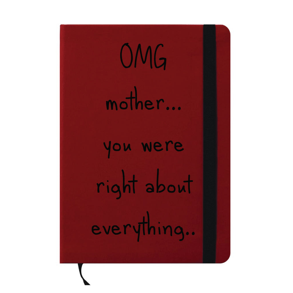 Mom is Right A6 Pocket Diary-Hamee India