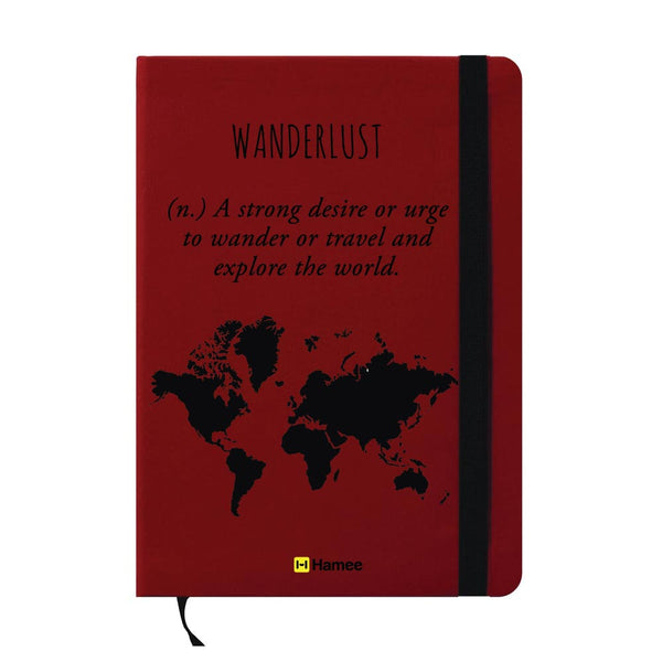 Wanderlust A6 Pocket Diary-Hamee India