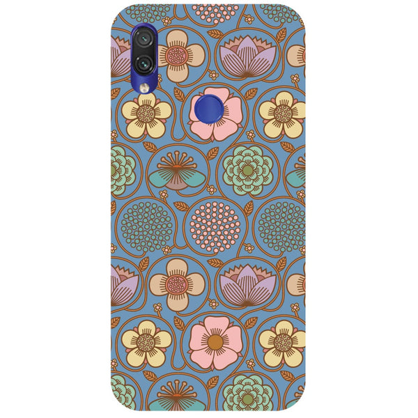Flowers Redmi Note 7 Back Cover-Hamee India