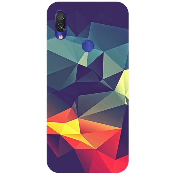 Geometric Redmi Note 7 Back Cover-Hamee India