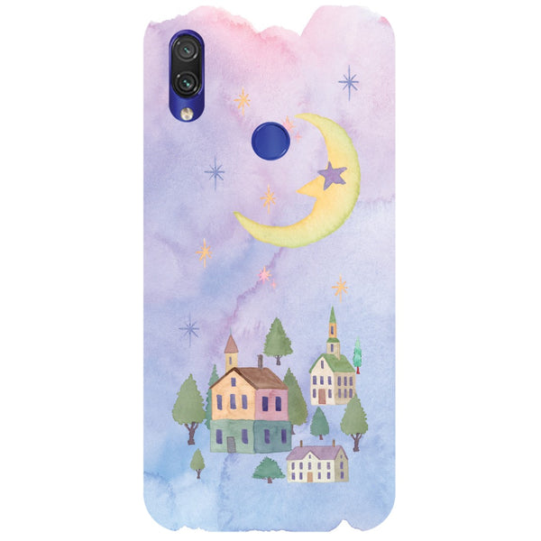 Starry Night Redmi Note 7 Back Cover-Hamee India