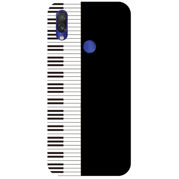 Piano Redmi Note 7 Back Cover-Hamee India