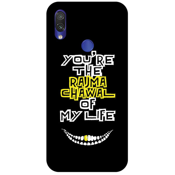 Rajma Chawal Redmi Note 7 Back Cover-Hamee India