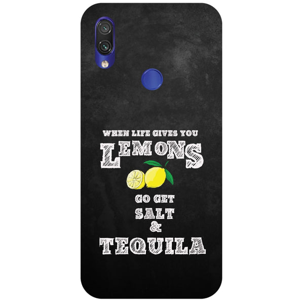 Lemons Redmi Note 7 Back Cover-Hamee India