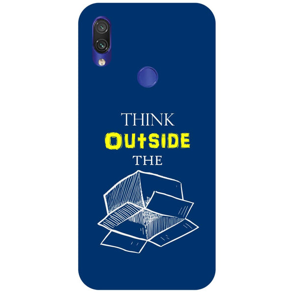 Think Redmi Note 7 Back Cover-Hamee India