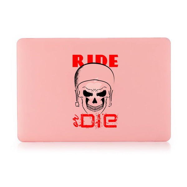 "Ride Or Die Pastel Pink MacBook Air 13"" Retina (2018) Cover-Hamee India"