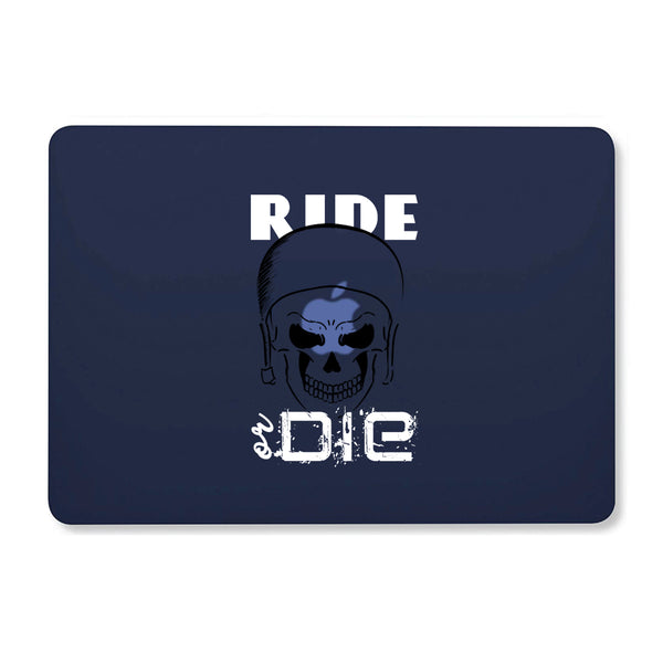 "Ride Or Die Navy Blue MacBook Air 13"" Retina (2018) Cover-Hamee India"
