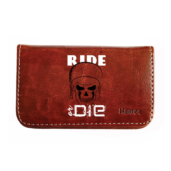 Ride Or Die Business / Visiting Card Holder-Hamee India