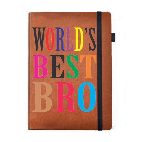Hamee - Best Brother 2 - Raksha Bandhan Special Tan Brown Leather Planner / Organizer