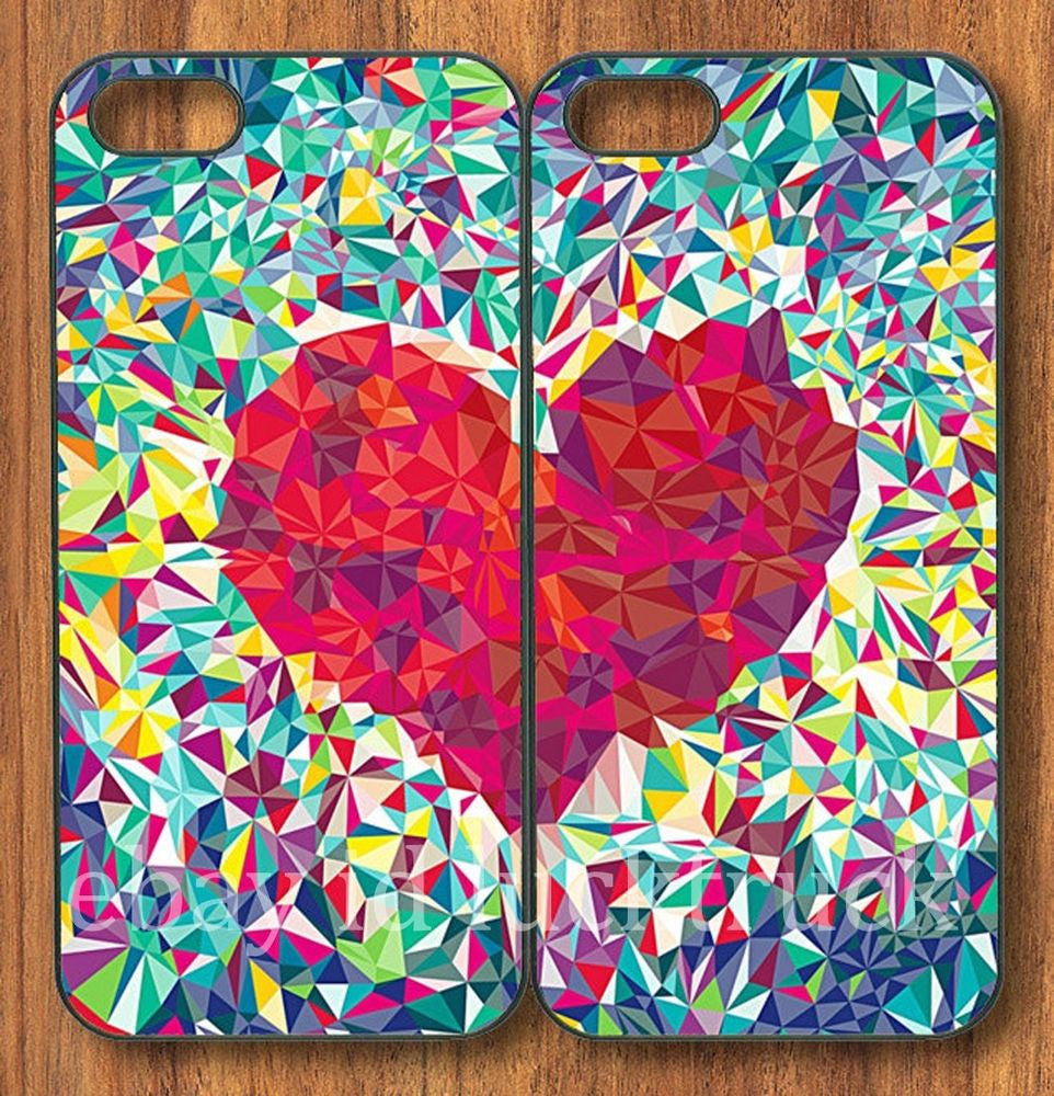 "Hamee Back Cover for VIVO V5 "" Collage My Heart Special Pack of Two Combo 32 "" - Hamee India"