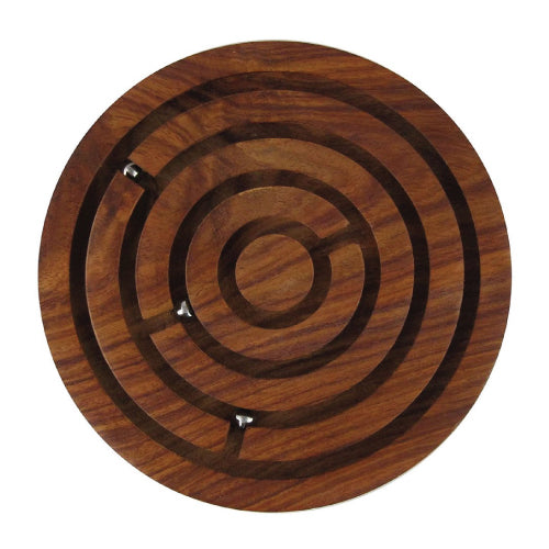 Wooden Labyrinth Maze Ball Game-Hamee India