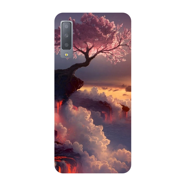 Blossom Samsung Galaxy A7 Back Cover-Hamee India