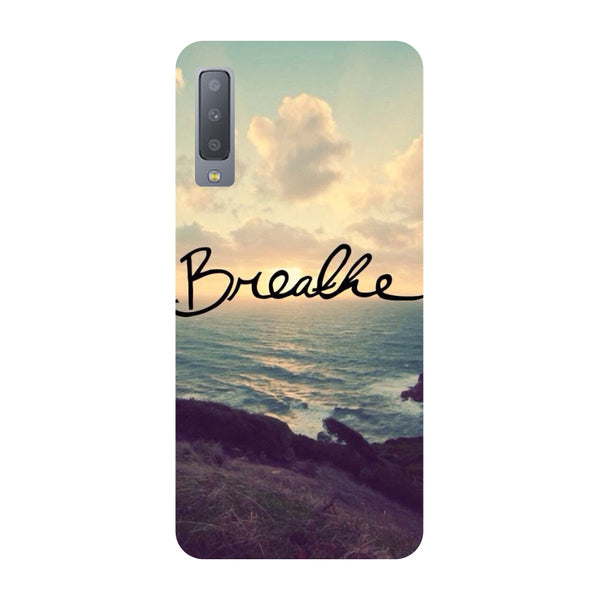 Breathe Samsung Galaxy A7 Back Cover-Hamee India