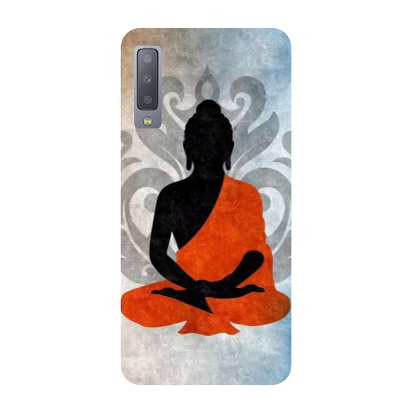 Buddha Relax Samsung Galaxy A7 Back Cover-Hamee India