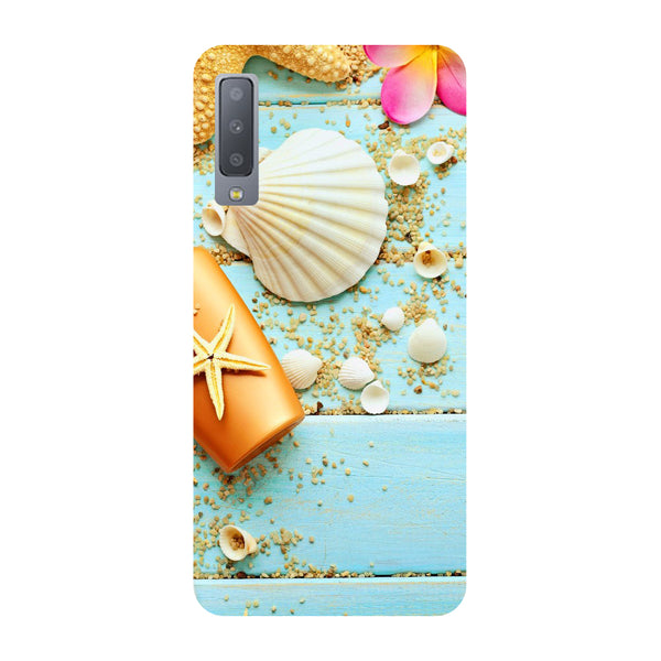 Shells Samsung Galaxy A7 Back Cover-Hamee India