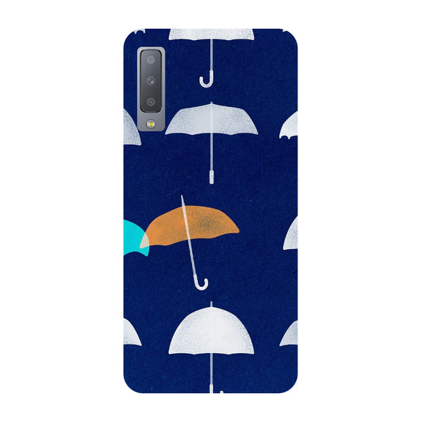 Umbrellas Samsung Galaxy A7 Back Cover-Hamee India