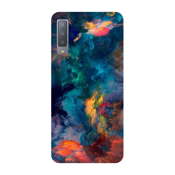 Abstract Fumes Samsung Galaxy A7 Back Cover-Hamee India