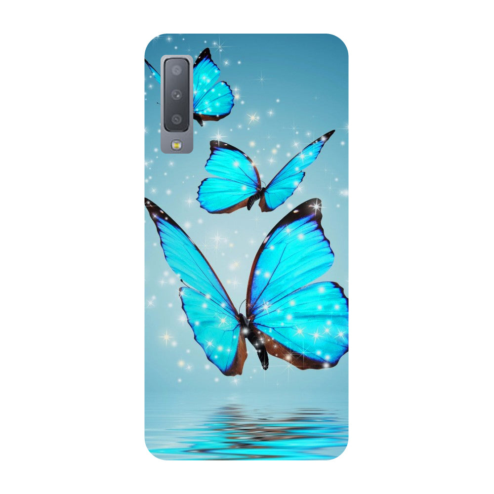 premium selection f1439 80854 Butterflies Samsung Galaxy A7 Back Cover