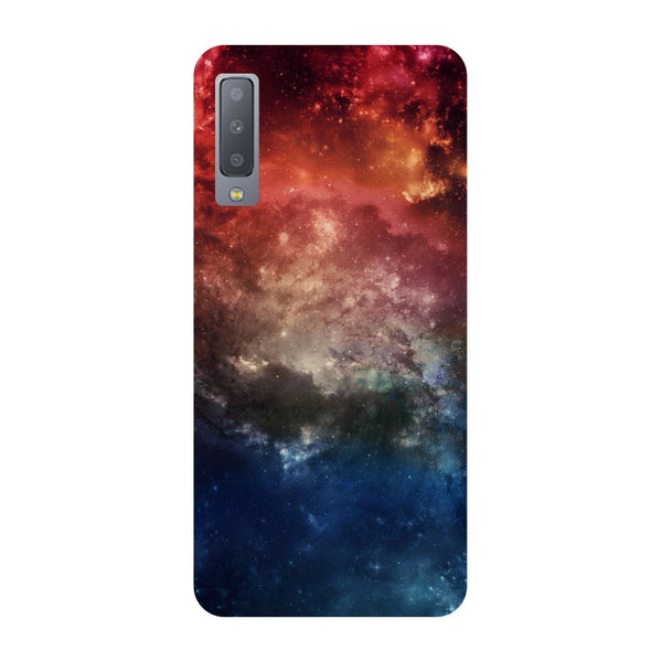 Outer Space Samsung Galaxy A7 Back Cover-Hamee India