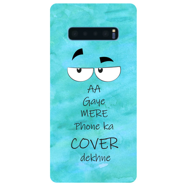 Aa Gaye Samsung Galaxy S10 Back Cover-Hamee India