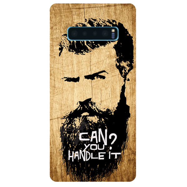 Handle Beard Samsung Galaxy S10 Back Cover-Hamee India