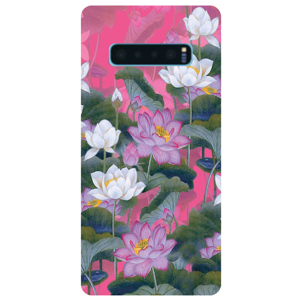 Lotus Valley Samsung Galaxy S10 Back Cover-Hamee India