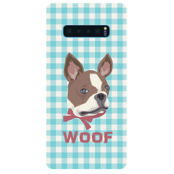 Woof Samsung Galaxy S10 Back Cover-Hamee India