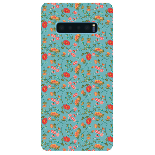 Floral Samsung Galaxy S10 Back Cover-Hamee India