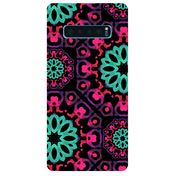 Mandala Print Samsung Galaxy S10 Back Cover-Hamee India