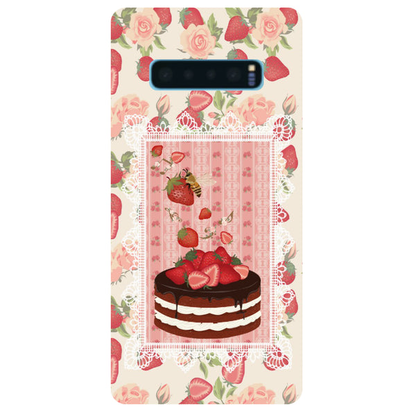Cake Samsung Galaxy S10 Back Cover-Hamee India